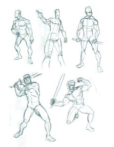 2014.05.06 Sword Poses