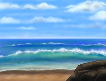Beach Scene 01