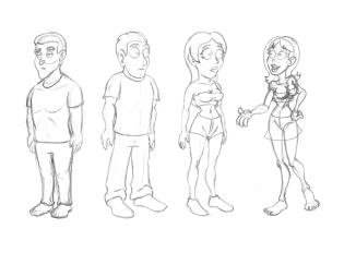 Cartoony Characters02
