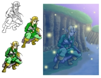 Elf Progression