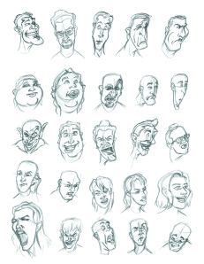 Faces from Facial Expressions Book 01
