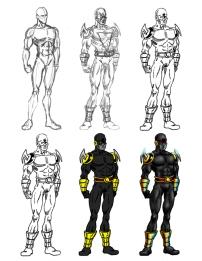 Superhero Progress01